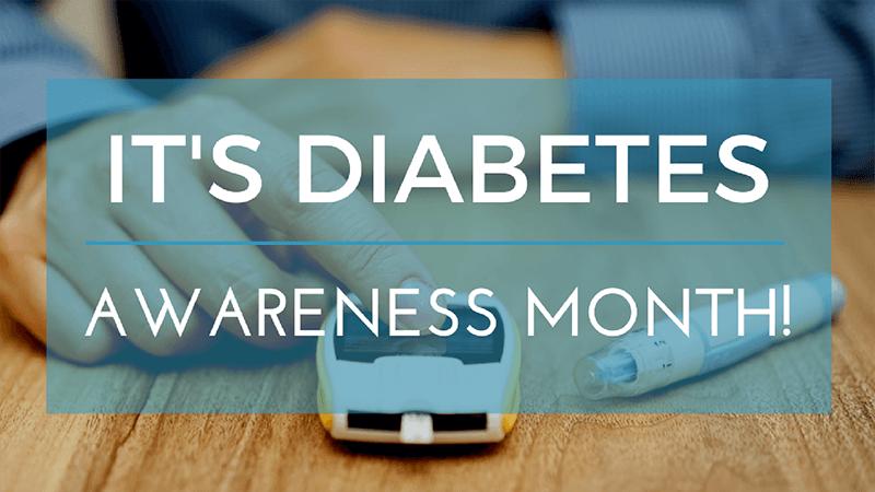 It's Diabetes Awareness Month