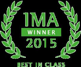 IMA Winnder 2015 Best In Class Award