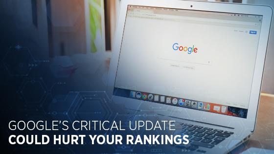 googles critical update